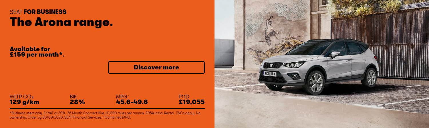 SEAT Arona Business Offer at Gravells in Pontyberem, Llanelli