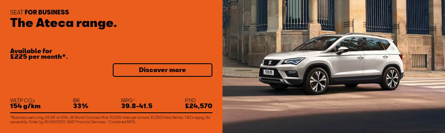 SEAT Ateca Business Offer at Gravells in Pontyberem, Llanelli