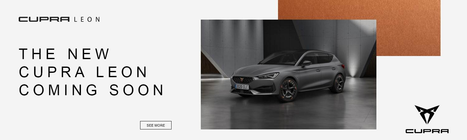 New SEAT Cupra Leon Coming Soon at Gravells in Pontyberem, Llanelli