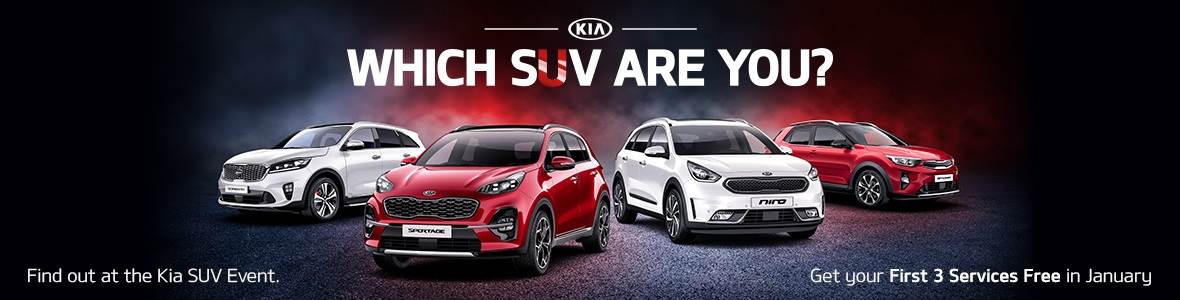 Kia SUV offer