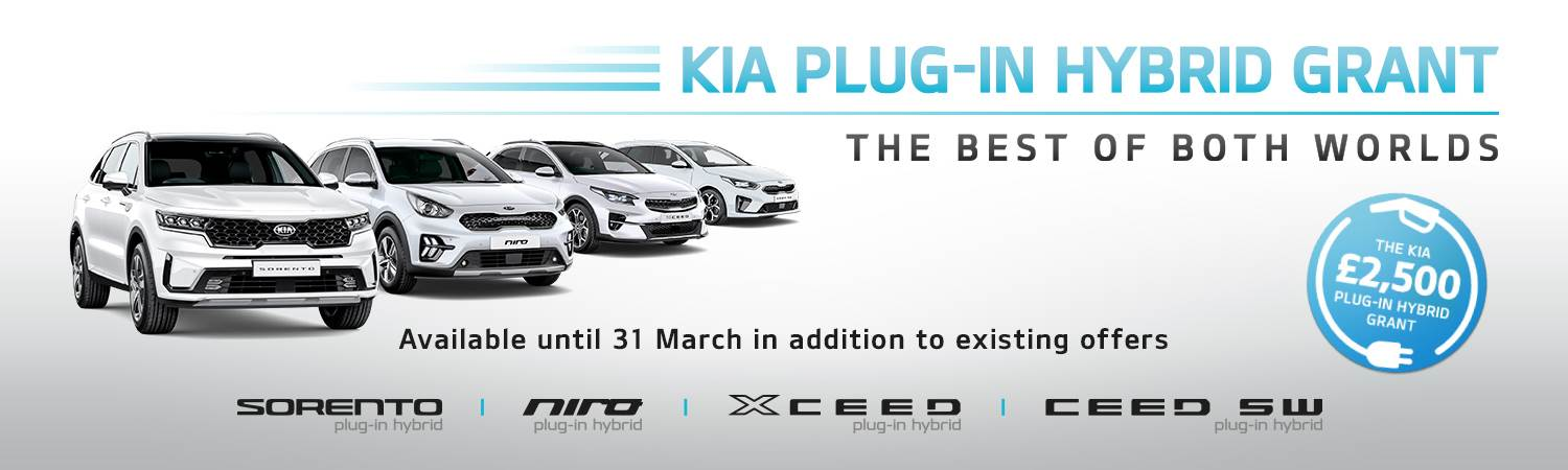 Kia XCeed PHEV Plug-In Hybrid Grant Offer