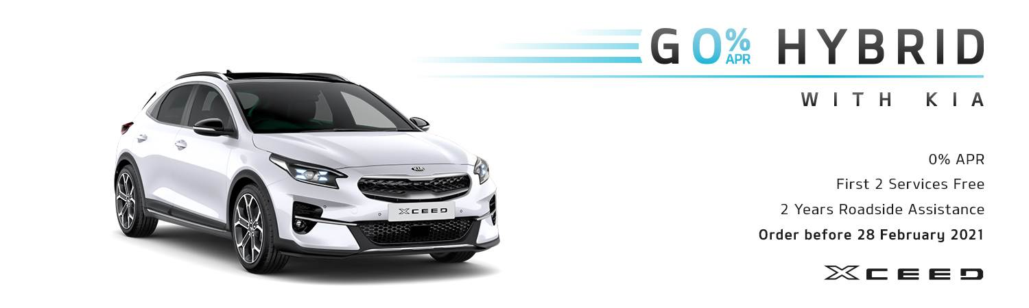 Kia XCeed Go Hybrid Offer