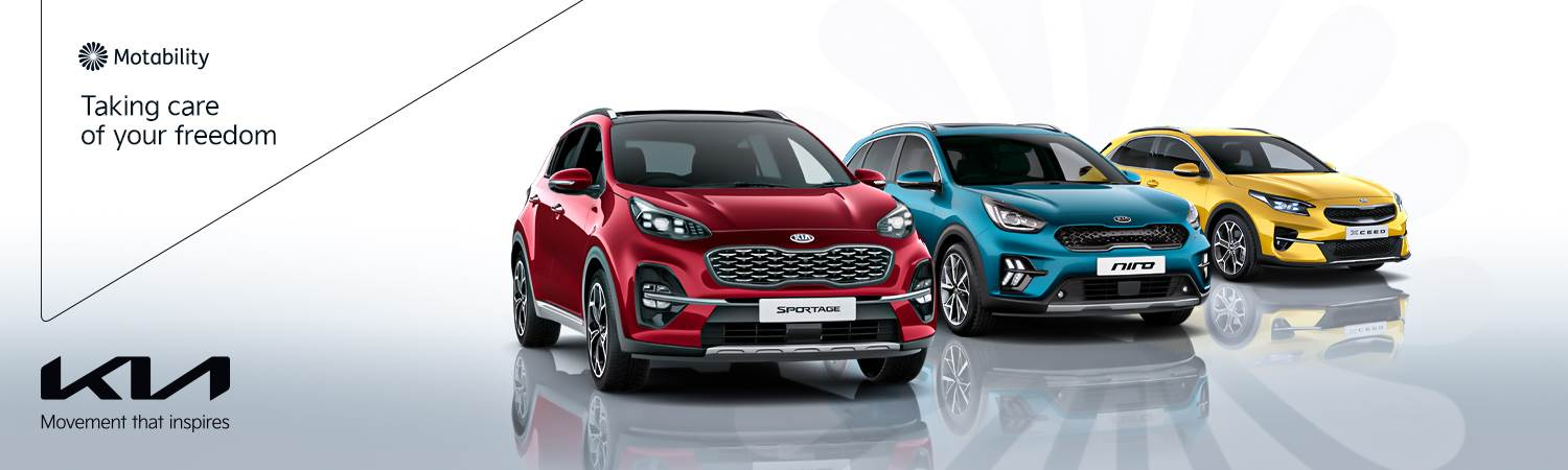 Kia Motability - see offer at Gravells