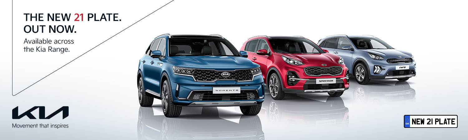 Kia Range New 21 plate out now - Gravells
