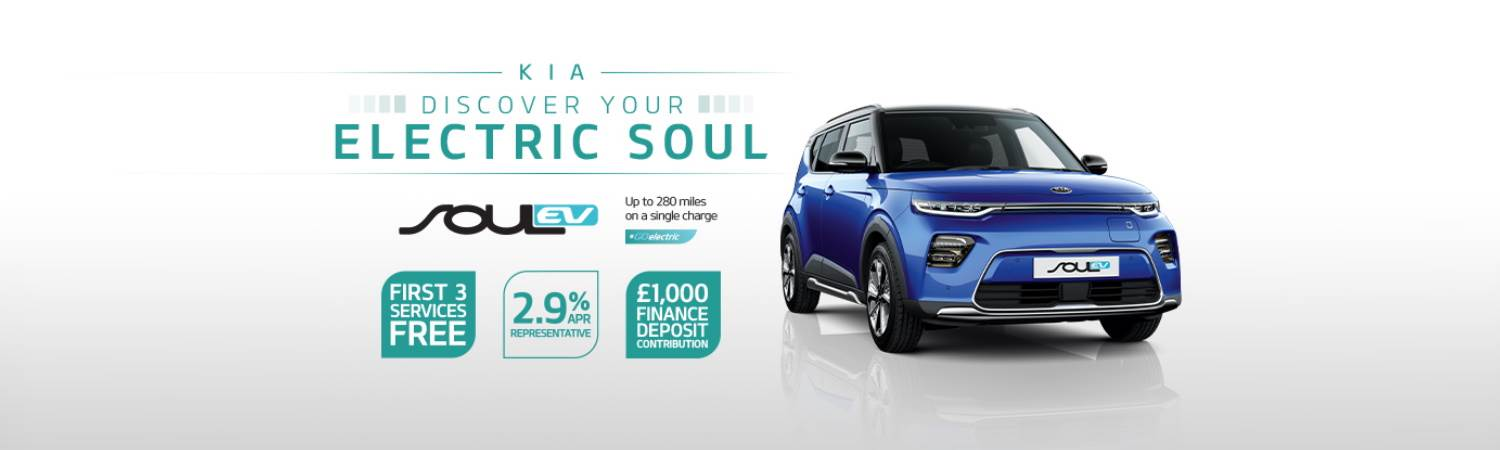 Gravells Kia Soul EV Finance Offer 2021