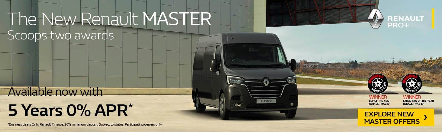 Renault Master Van Offer