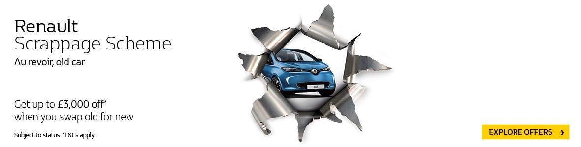 Renault Scrappage Offer