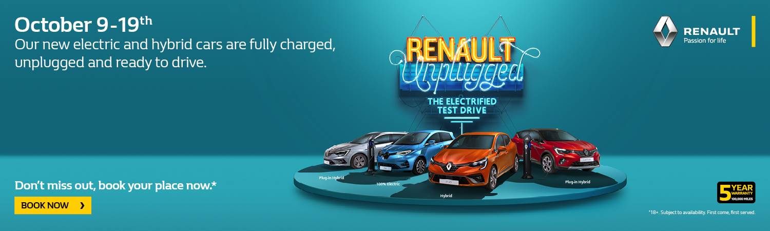 Renault Unplugged Event