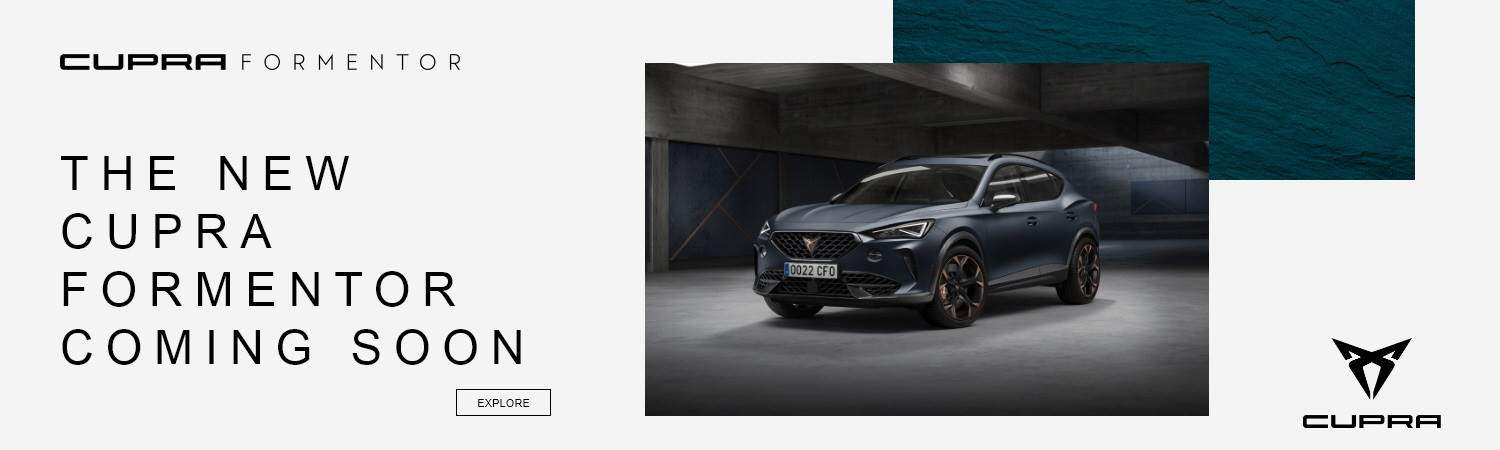 New SEAT Cupra Formentor Coming Soon at Gravells in Pontyberem, Llanelli
