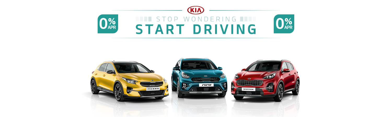 Kia Start Driving Offer Gravells