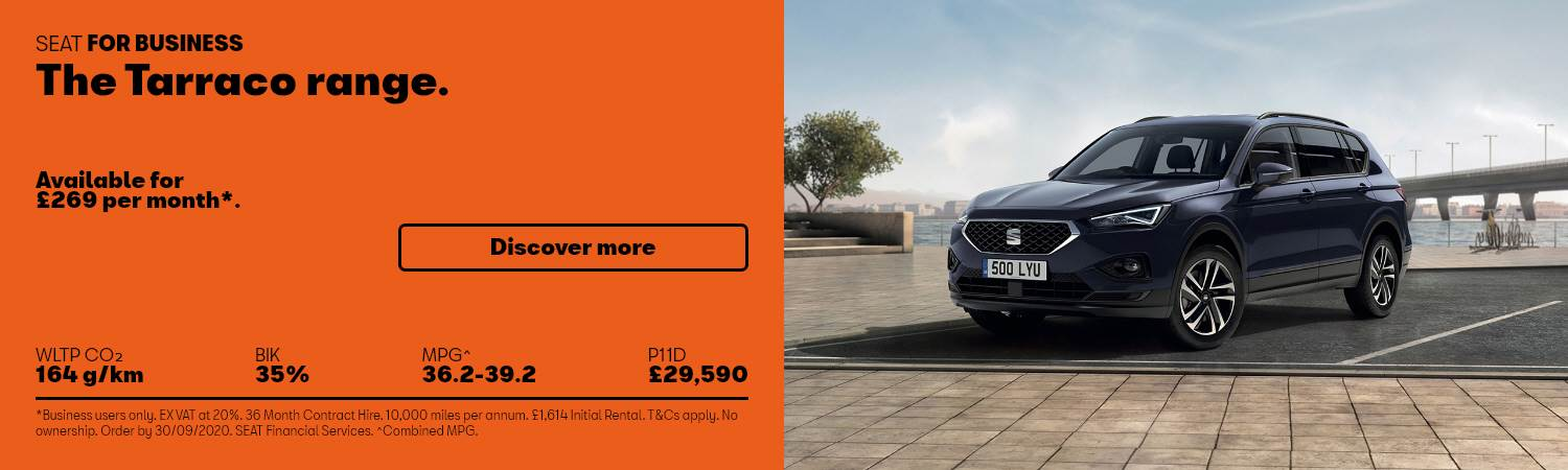 SEAT Tarraco Business Offer at Gravells in Pontyberem, Llanelli