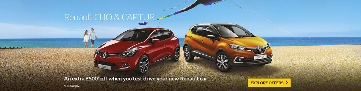 Renault £500 Test Drive