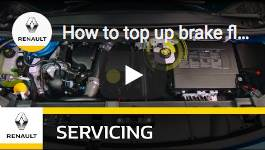 How to top up brake fluids?