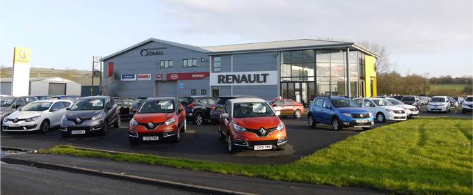 Gravells Renault and Service Centre (Pembrey Rd) Kidwelly