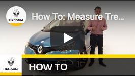 How To: Measure Tread Depth of Your Tyres - Renault UK